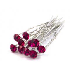 Vlásenky - růžový kamínek