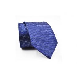 Pánská kravata se vzrorem - oranžová