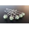 Vlásenky s bílou perličkou