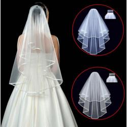 Svatební závoj - bílý