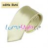 Pánská kravata - světle žlutá