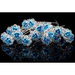 Vlásenky - modré kytičky