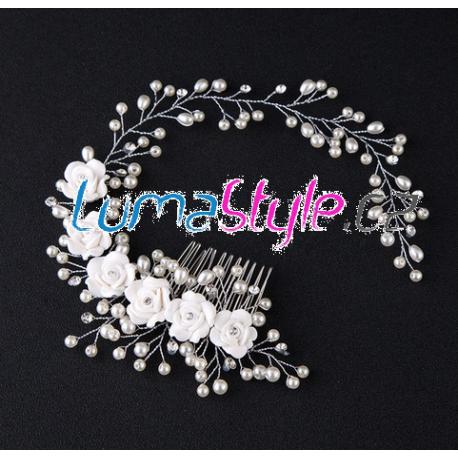 Elegantní hřebínek do vlasů - LUMA Style 3a89795008