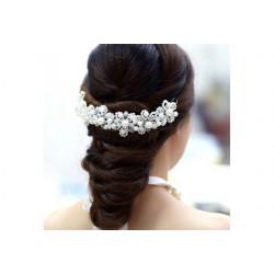 Ozdoba do vlasů s perličkami