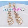 Luxusní naušnice s perličkami