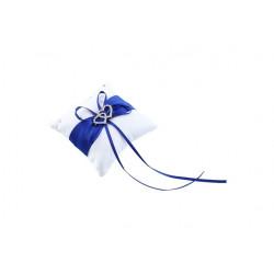 Polštářek pod prstýnek - modrý