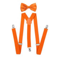 Pánská sada - neonově oranžová
