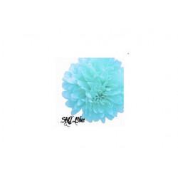Pompom modrý