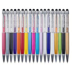 Dotykové pero s propiskou 2v1