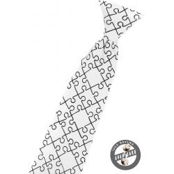 Dětská kravata - puzzle