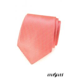 Pánská kravata - lososová
