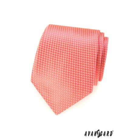 Pánská kravata se vzorem - modrá