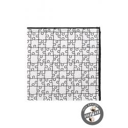 Kapesníček do klopy - puzzle