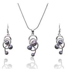 Sada šperků s perličkami